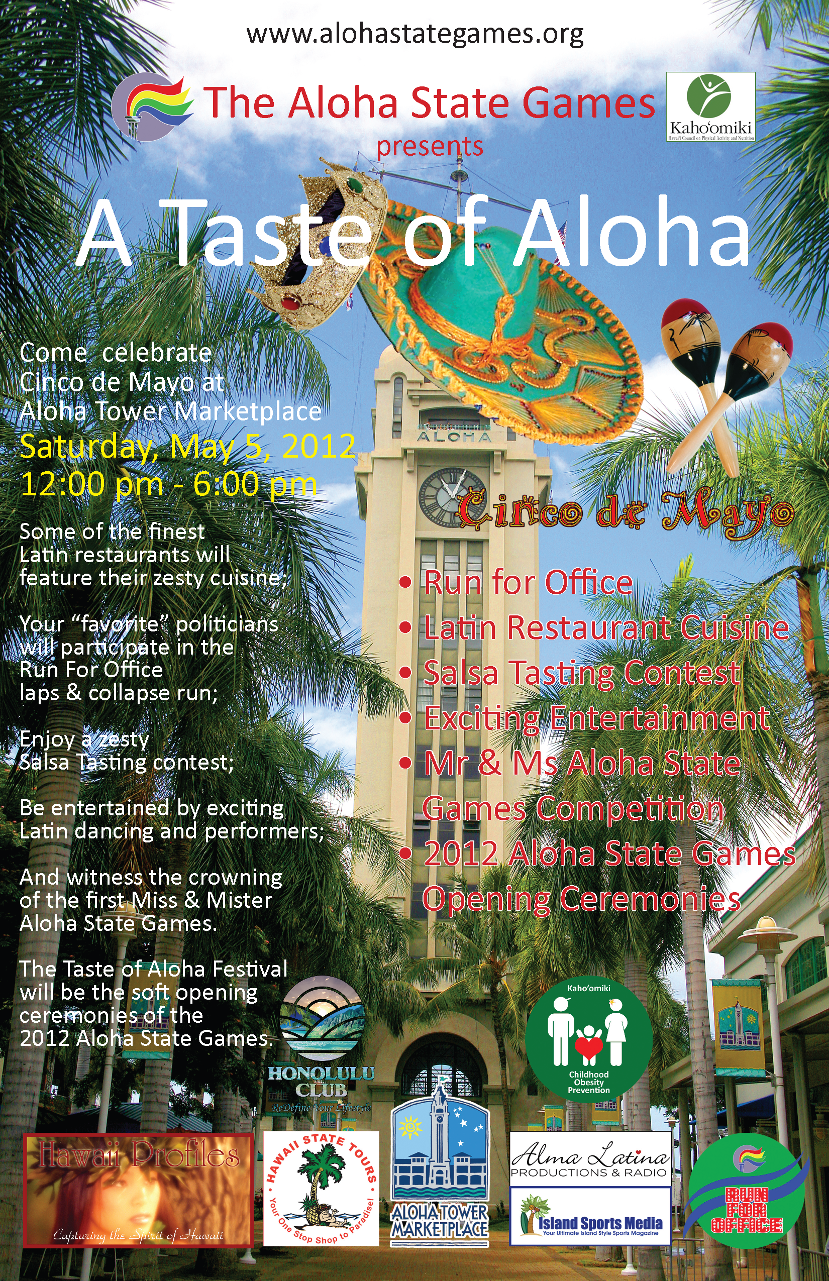 Poster Taste of Aloha